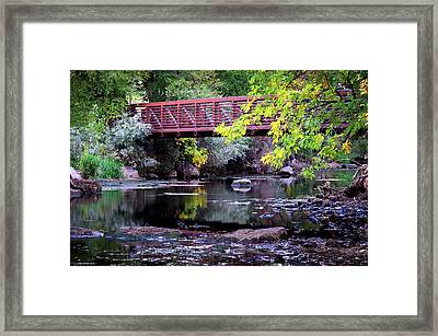 Ogden River Bridge Framed Print