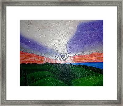 Ogidajiw Framed Print by Gwen Curry