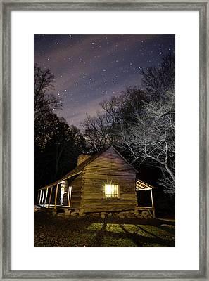 Ogle Cabin Framed Print