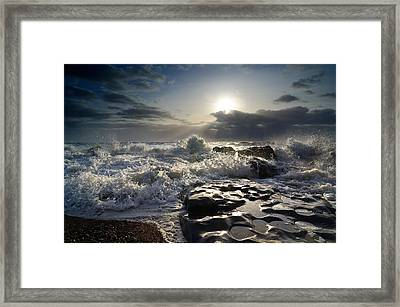 Ogmore By Sea Framed Print