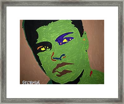 Ogun Ali Framed Print by Stormm Bradshaw