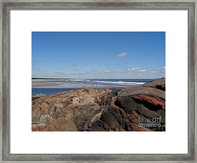 Ogunquit Maine Framed Print