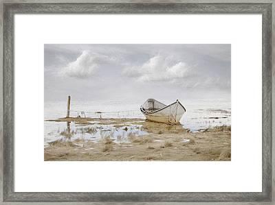 Ogunquit Sky Framed Print