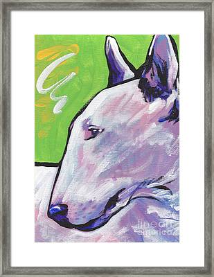 Oh Bull Framed Print by Lea S