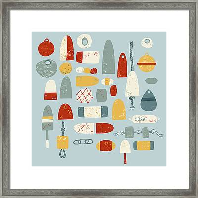 Oh Buoy Framed Print by Nic Squirrell