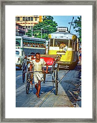 Oh Calcutta Framed Print