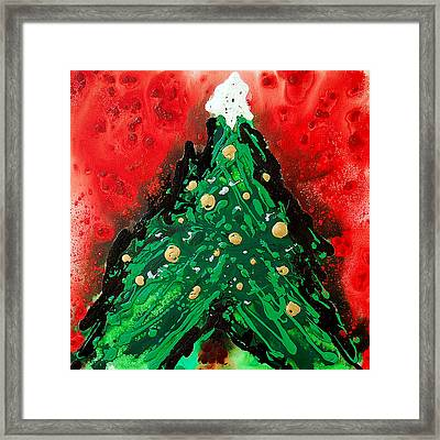 Oh Christmas Tree Framed Print by Sharon Cummings