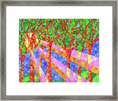 Oh Happy Day Framed Print by Jennifer Allison