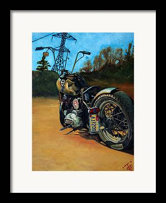 Frizzell Framed Prints