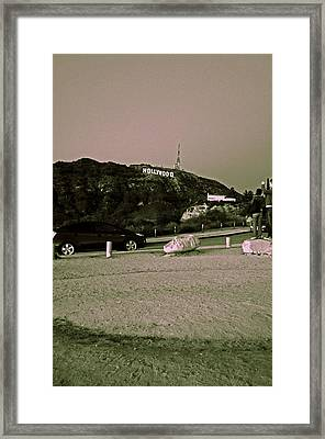 Oh Hollywood. Framed Print by Sarah Suvan