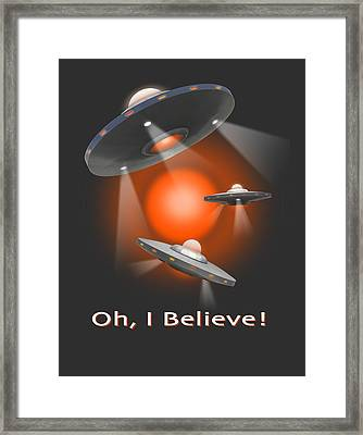 Oh I Believe  Se Framed Print by Mike McGlothlen