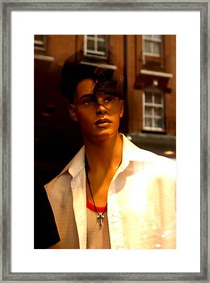 Oh Its You Framed Print by Jez C Self