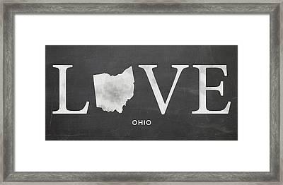 Oh Love Framed Print