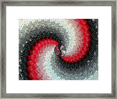 Oh Lynda Framed Print by Karen Wiles