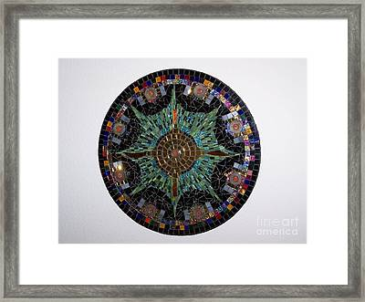 Oh Mayan My Framed Print
