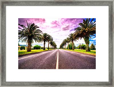 Oh New Zealand... Framed Print by Les Lorek