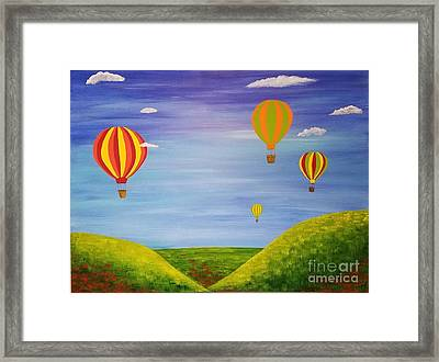 Oh The Places We Will Go Framed Print