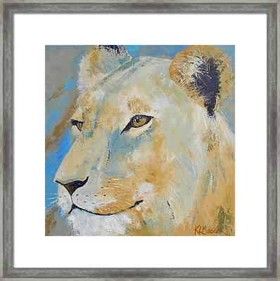 Oh To Be King Framed Print