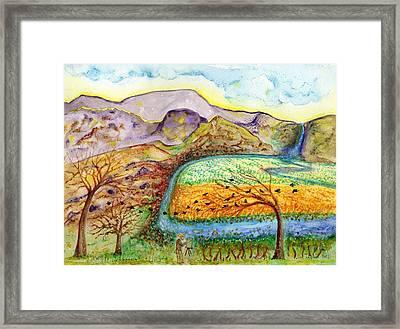 Oh Vincent Framed Print