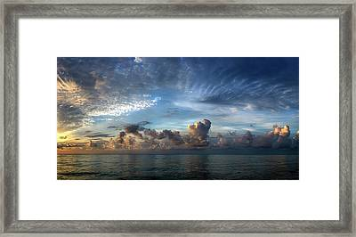 Oh, What A Beautiful Morning Framed Print