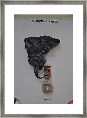 Oh What A Drag Framed Print by Michael Jude Russo