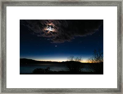 Oh What A Night Framed Print by Jan Davies