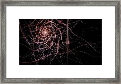 Cosmic Web Framed Print by Rhonda Barrett