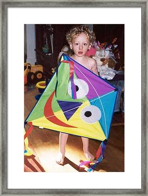 Oh What Diid You See My Blue Eyed Son Framed Print by Bruce Combs - REACH BEYOND