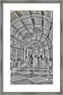 Ohare Concourse Framed Print by David Bearden