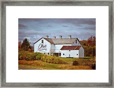Ohio Bicentennial Barn Framed Print