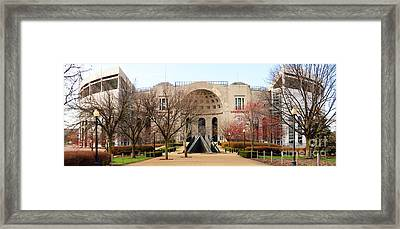 Ohio Stadium Entrance  8955 Framed Print