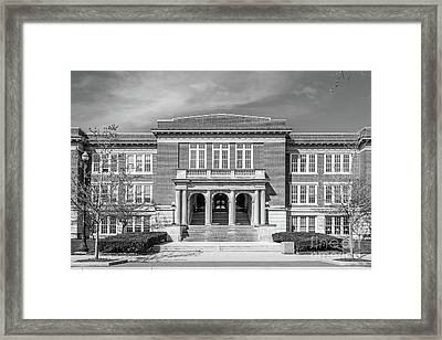 Ohio State University Campbell Hall Framed Print by University Icons
