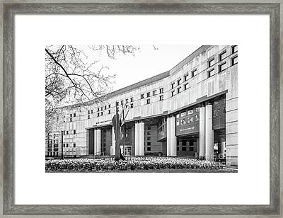 Ohio State University College Of Law Framed Print by University Icons