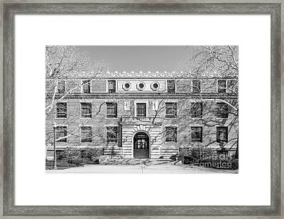 Ohio State University Derby Hall  Framed Print by University Icons