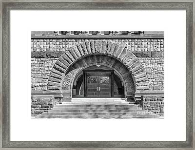 Ohio State University Hayes Hall Entry Framed Print by University Icons