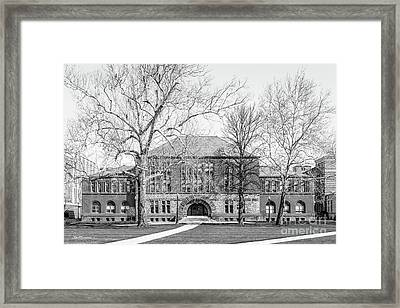 Ohio State University Hayes Hall Framed Print by University Icons
