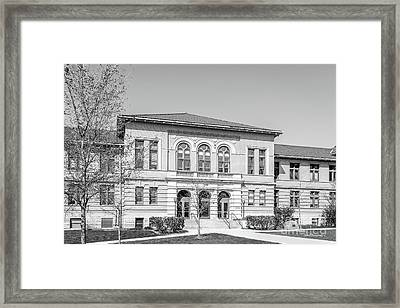 Ohio State University Lazenby Hall Framed Print by University Icons