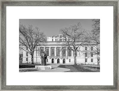 Ohio State University Thompson Library Framed Print by University Icons