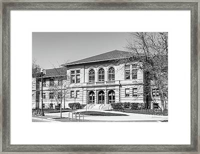 Ohio State University Townsend Hall Framed Print by University Icons