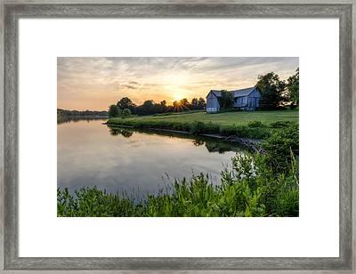 Ohio Sunrise 1 Framed Print by Matt Hammerstein