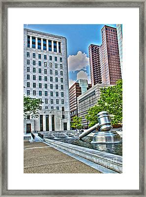 Ohio Supreme Court Framed Print
