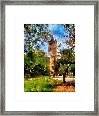 Ohio Wesleyan Chapel Framed Print