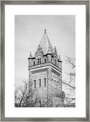 Ohio Wesleyan University University Hall Framed Print