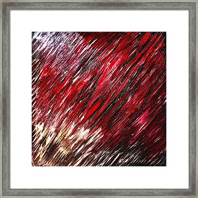 Melting Into Colors 3 Oil Painting Framed Print