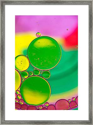 Oil And Water P Framed Print