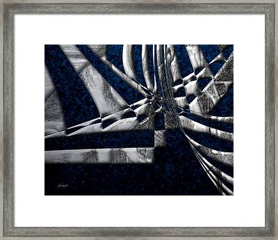 Oil In The Gulf 03 Framed Print by William Hutchison