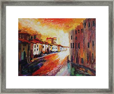 Oil Msc 013 Framed Print