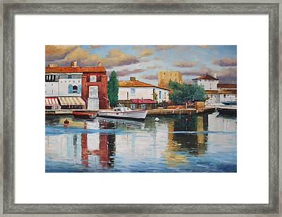 Oil Msc 019 Framed Print