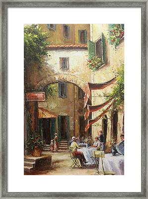 Oil Msc 050 Framed Print