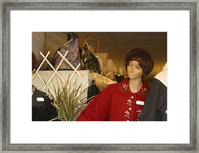 Oil Of Ulay Framed Print by Jez C Self